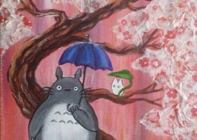 Totoro Cherry Blossom Tree