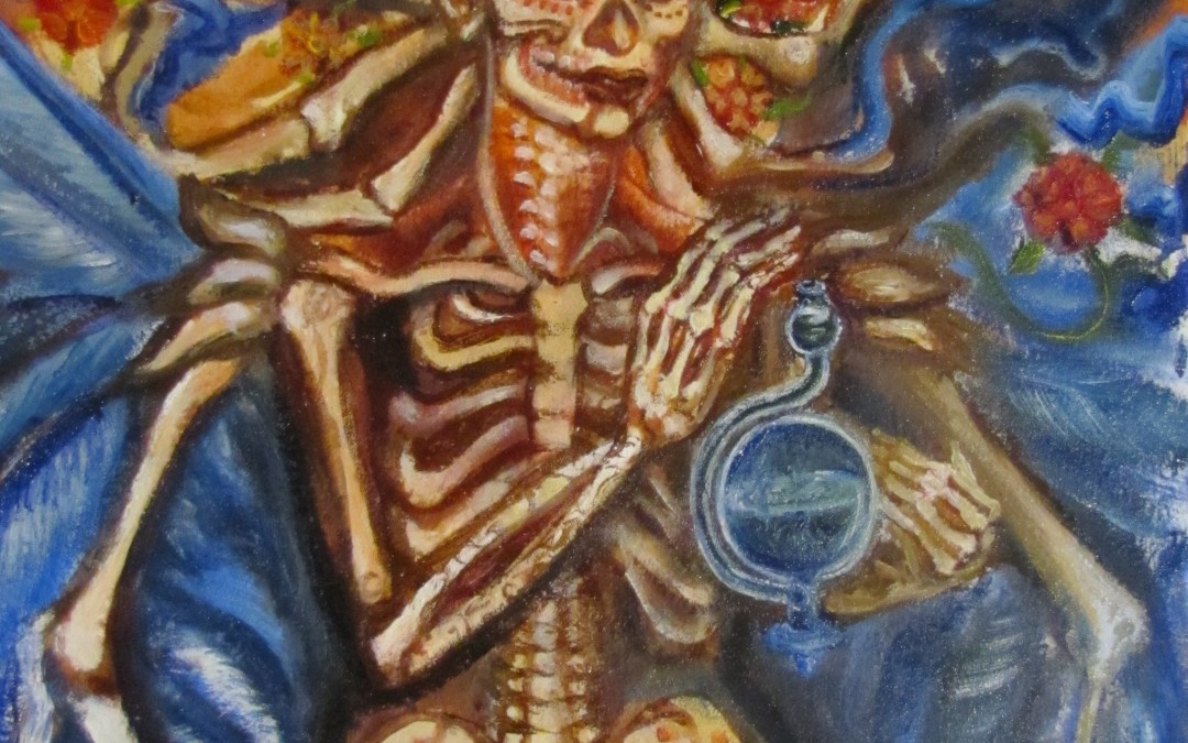 Death, with a Glass Barometer